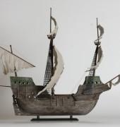 """Сборная модель Корабль-призрак """"Летучий голландец"""" 11"""