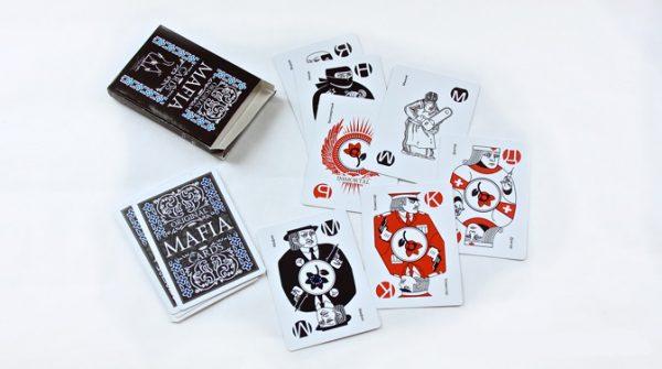 Карты для игры в Мафию (пластиковые) 1