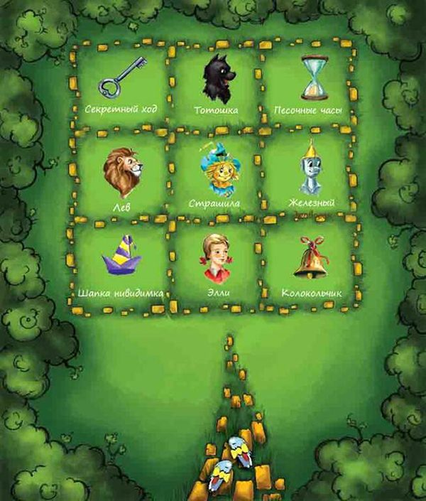 настольная игра Волшебник Изумрудного города 2