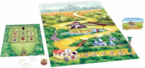 настольная игра Волшебник Изумрудного города 1