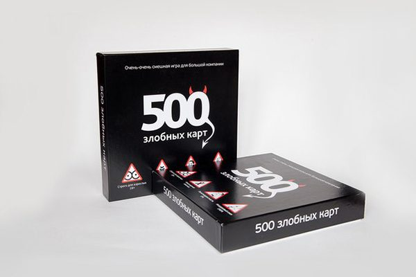 настольная игра 500 злобных карт 1