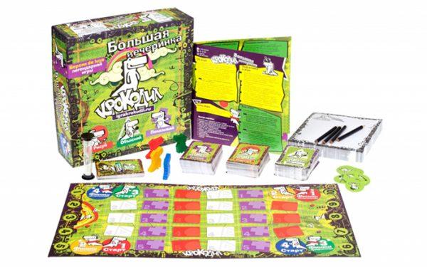 настольная игра Крокодил Большая вечеринка 1