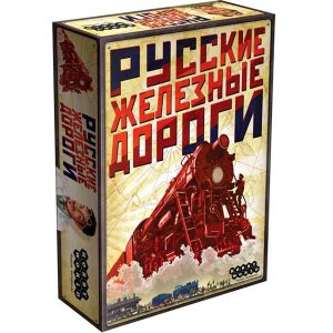 настольная игра Русские Железные Дороги