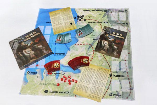 Настольная игра Битва за Севастополь
