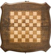 Шахматы + Нарды резные 40, Ohanyan 7