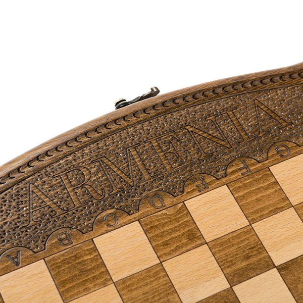 Шахматы + Нарды резные 40, Ohanyan 6