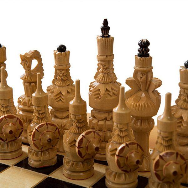 Стол шахматный с баром в виде кареты 7