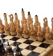 Стол шахматный с баром в виде кареты 6