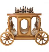 Стол шахматный с баром в виде кареты 4
