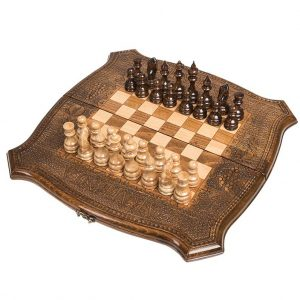 Шахматы + Нарды резные 40, Ohanyan