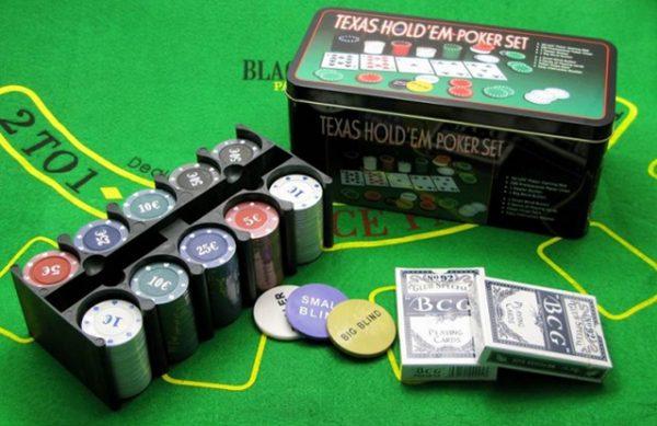 Наборы для покера 200 фишек