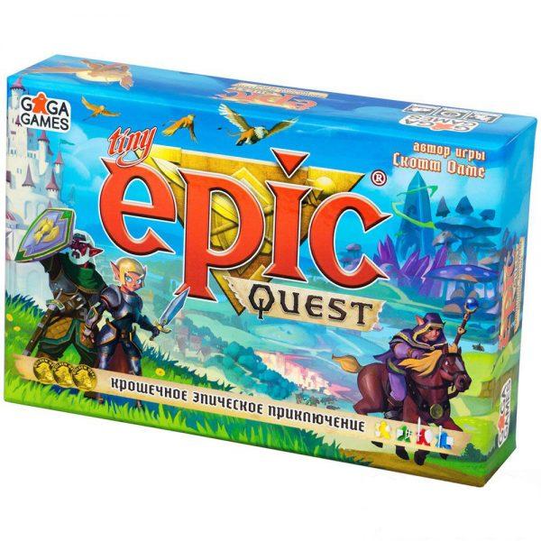 Крошечное Эпическое Приключение (Tiny Epic Quest)