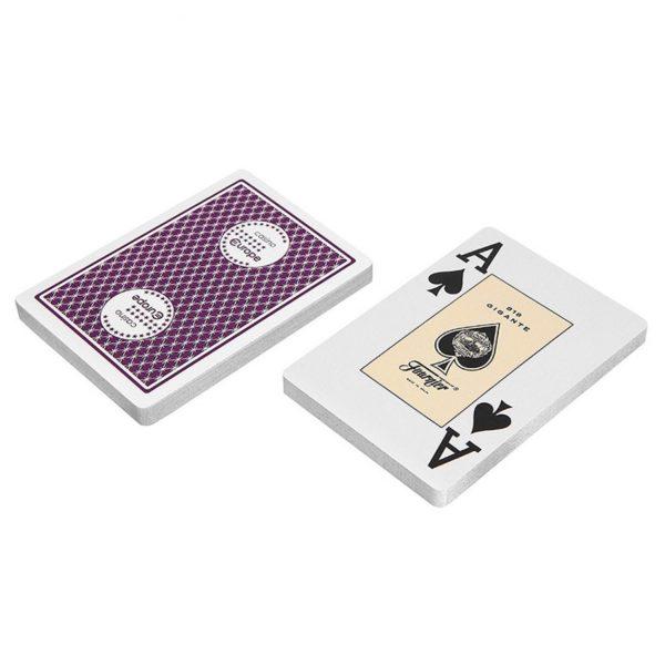 Карты для покера Fournier 818 Casino Europe фиолетовая рубашка