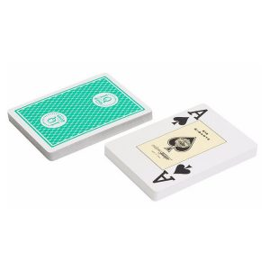 """Карты для покера """"Fournier 818 Casino Europe"""", зеленая рубашка"""
